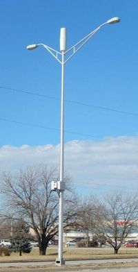 small cell on lightpole